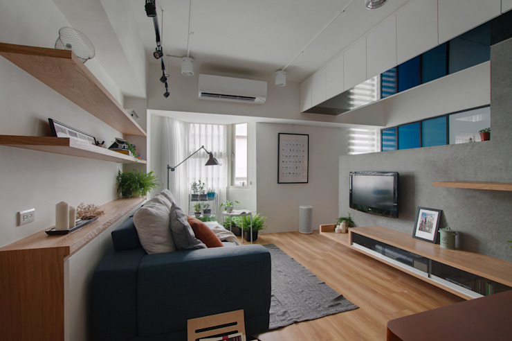 邁向建築 根據 御見設計企業有限公司 工業風