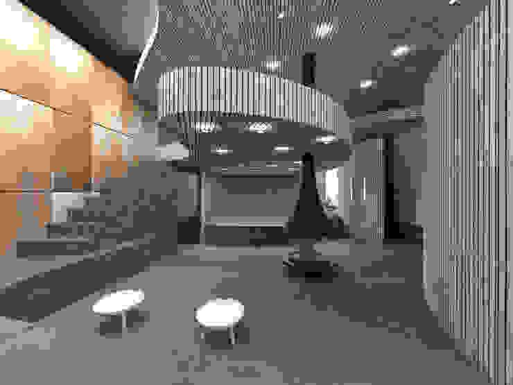 Welness sauna van Archstudio Architecten | Villa's en interieur