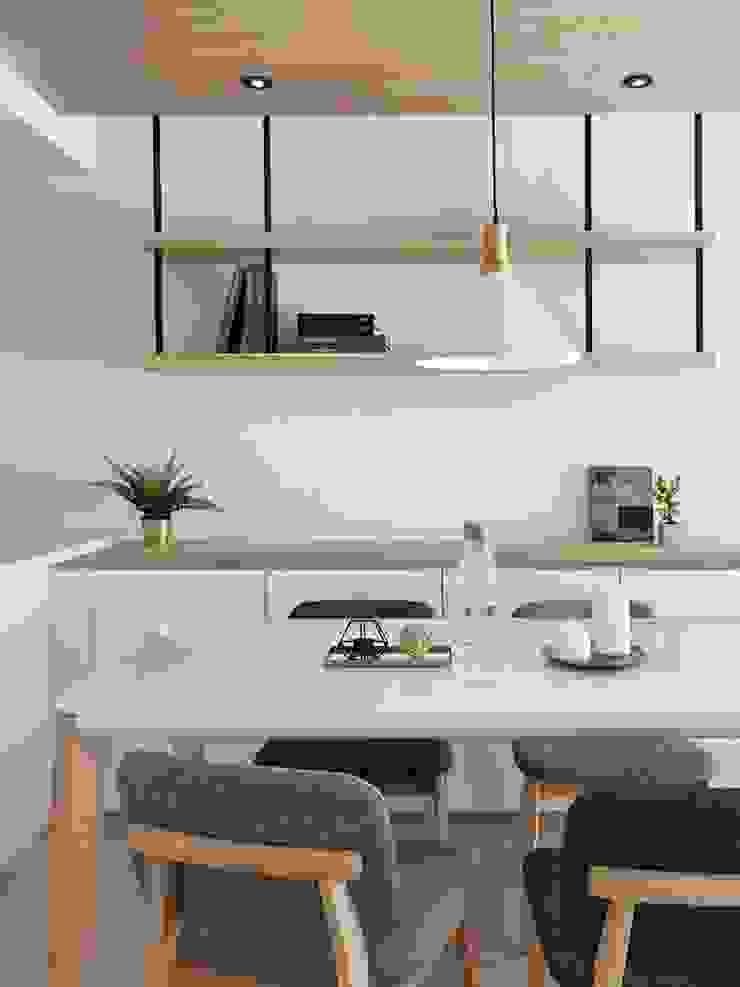 砌 禾: 極簡主義  by 御見設計企業有限公司, 簡約風 木頭 Wood effect