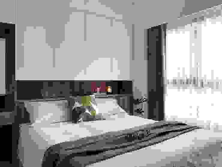 Bedroom by 御見設計企業有限公司, Minimalist