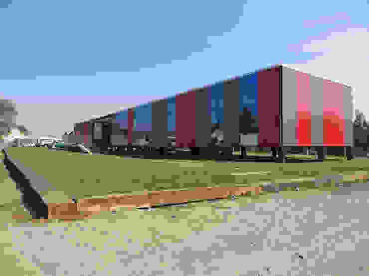 Oficinas Modulares Transportables m2 estudio arquitectos - Santiago Escaleras