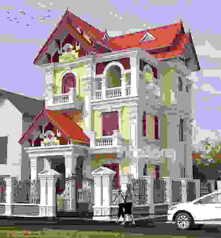 Biệt thự kiểu Pháp đẹp bởi Kiến trúc Kinh Bắc