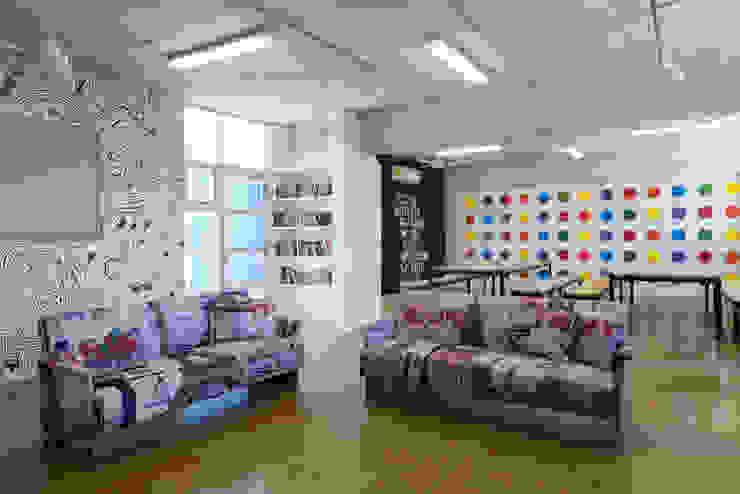 Escritórios modernos por Daniel Cota Arquitectura | Despacho de arquitectos | Cancún Moderno Betão