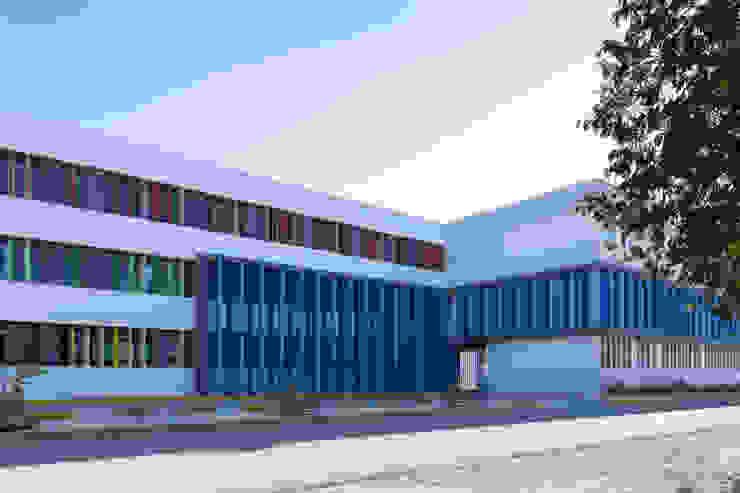 Daniel Cota Arquitectura | Despacho de arquitectos | Cancún 書房/辦公室 水泥 Multicolored