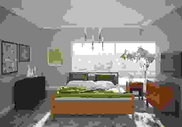 Bedroom Furn & Finishing Oleh casadellastudio Skandinavia Kayu Wood effect