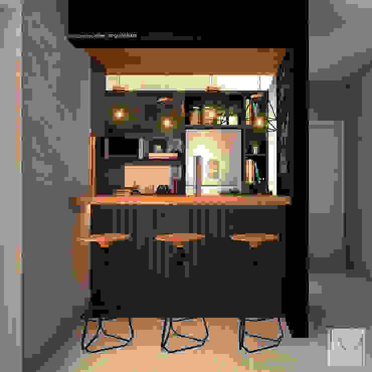 by Laura Mueller Arquitetura + Interiores Modern Wood Wood effect