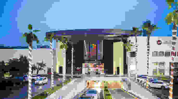 Plaza Fiesta San Agustin de Centro de Diseño 40, S.A. de C.v. Moderno