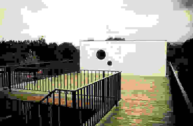 Terrasse von m2 estudio arquitectos - Santiago,