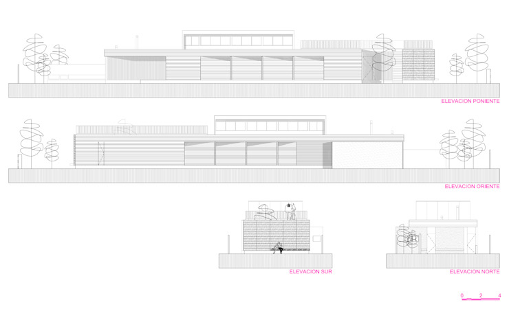 تنفيذ m2 estudio arquitectos - Santiago,