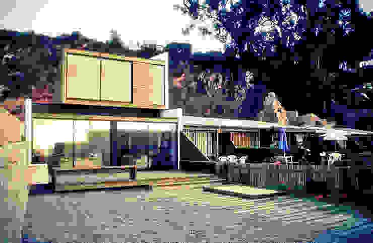 por m2 estudio arquitectos - Santiago Moderno Tijolo