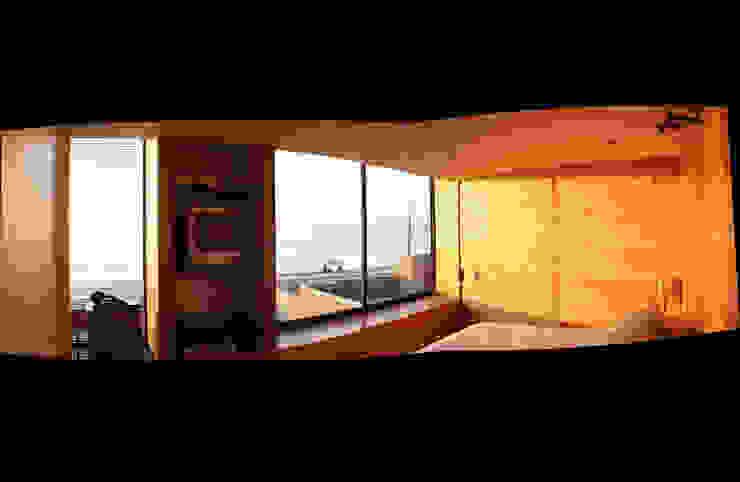 Casa Pazols Dormitorios de estilo moderno de m2 estudio arquitectos - Santiago Moderno Vidrio