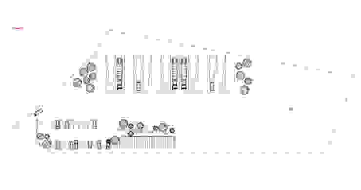 Oficinas Modulares Transportables de m2 estudio arquitectos - Santiago Minimalista