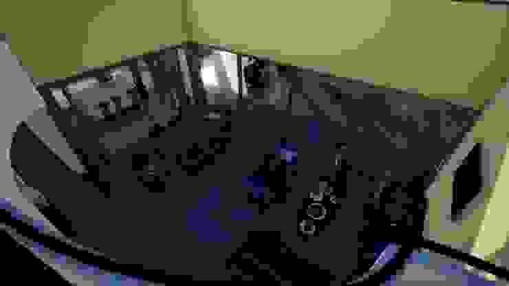Salon classique par BIM Urbano Classique Briques