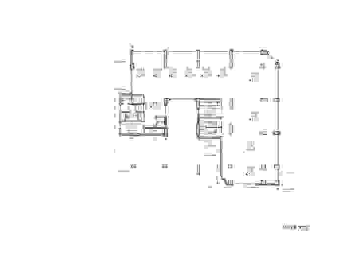 2F PLAN: 위 종합건축사사무소의 현대 ,모던