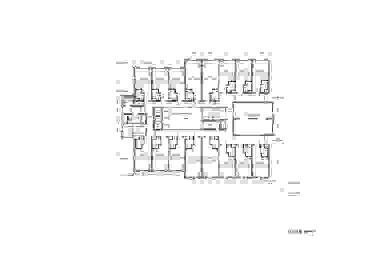 3F PLAN: 위 종합건축사사무소의 현대 ,모던