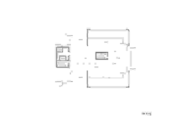 ROOF PLAN: 위 종합건축사사무소의 현대 ,모던