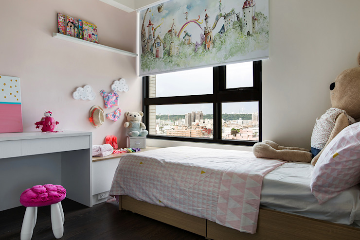 Boys Bedroom by 達譽設計, Tropical