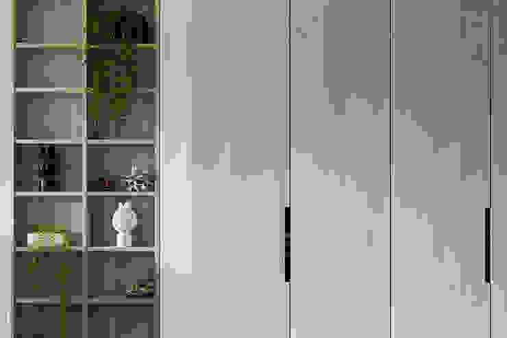 櫃體分割: 斯堪的納維亞  by 達譽設計, 北歐風