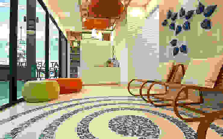 """ฺ'By the Sea"""" dental clinic โดย Pilaster Studio Design"""