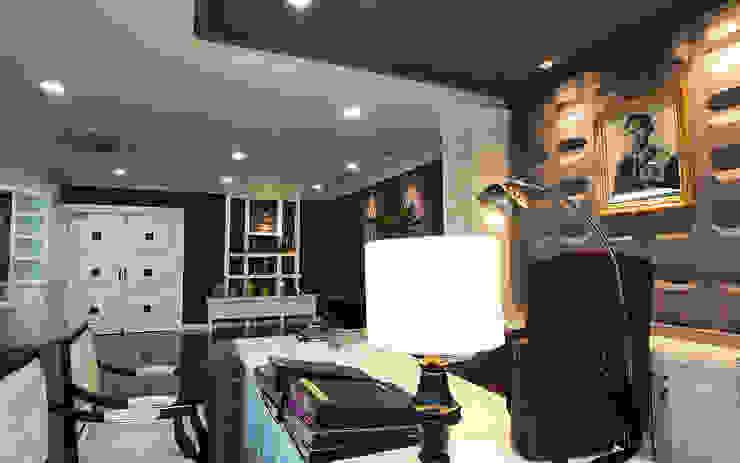 Modern Classic Office in Bangkok โดย Pilaster Studio Design