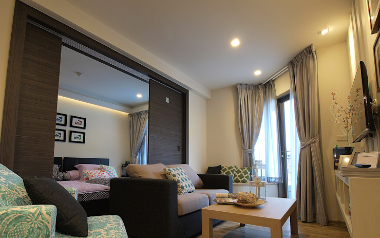 private suite in Huahin โดย Pilaster Studio Design