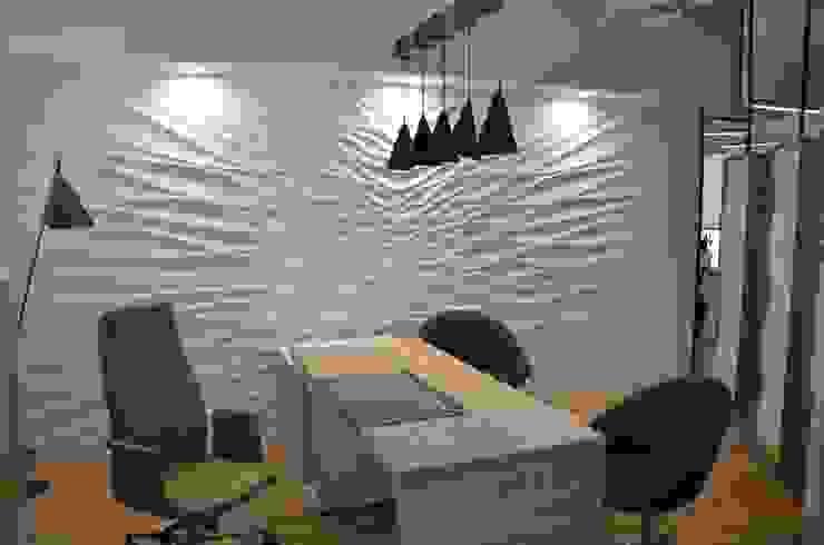 Study/office by Loft Design System Deutschland - Wandpaneele aus Bayern, Eclectic