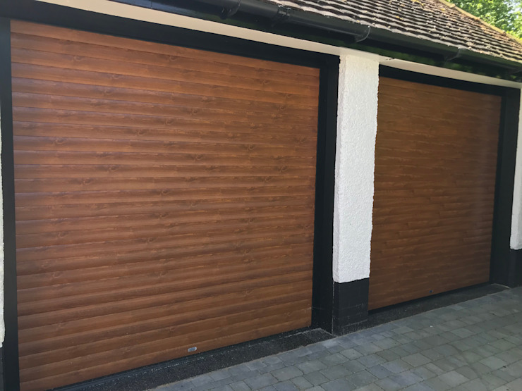 Garageflex Case Study of a Fantastic Garage Makeover in Hertfordshire Garageflex Porte da garage