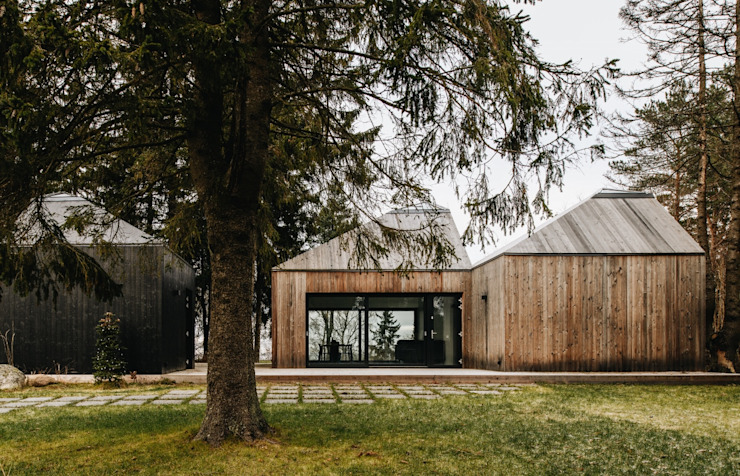 Scandinavian style houses by Baltic Design Shop Scandinavian Wood Wood effect