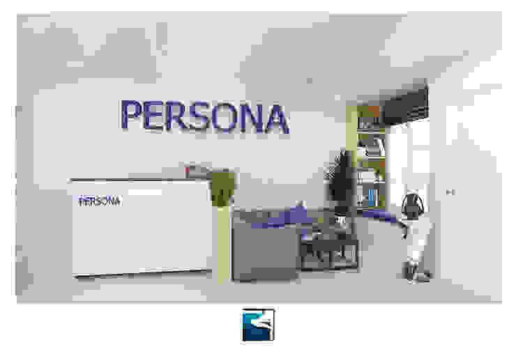 Interior Design : Persona Office Design โดย Blufox eco-solution Co., Ltd. โมเดิร์น