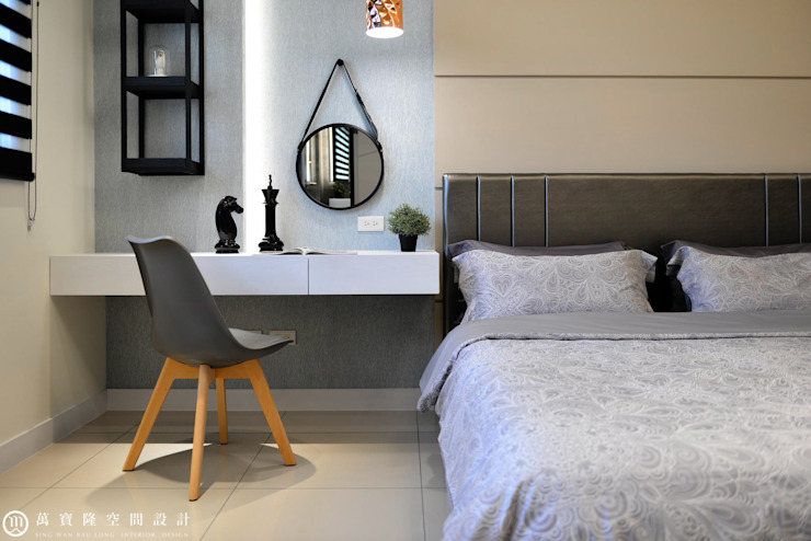 住盛不動產/天鑽V-金迷風尚 根據 SING萬寶隆空間設計 現代風