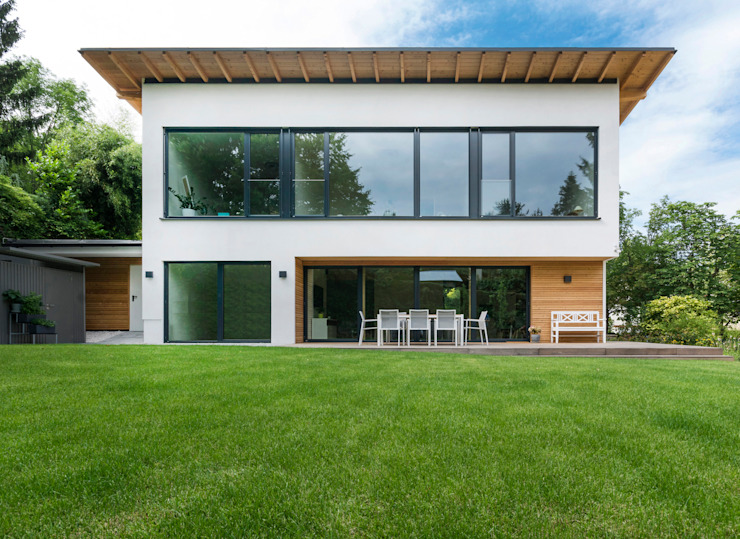 Casas estilo moderno: ideas, arquitectura e imágenes de AL ARCHITEKT - in Wien Moderno