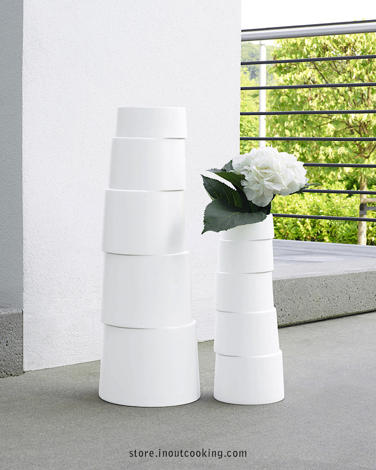 In&Out Cooking HouseholdAccessories & decoration Porcelain White