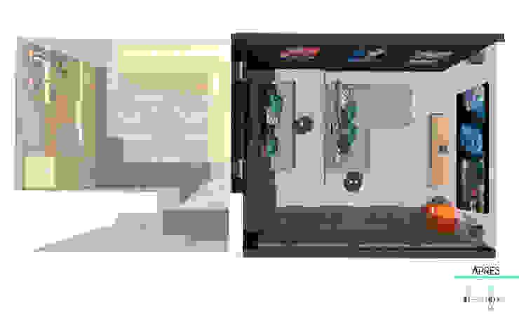 Décoration des pièces d'une maison – St Just Chaleyssin par 1.61 design Moderne