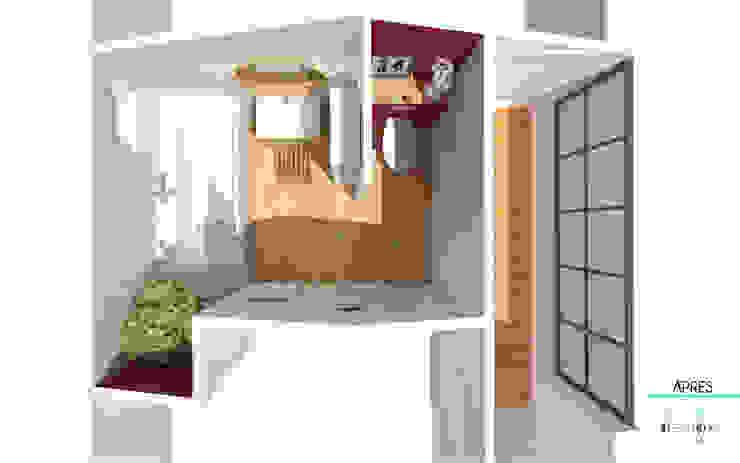 Décoration des pièces d'une maison – St Just Chaleyssin Maisons modernes par 1.61 design Moderne