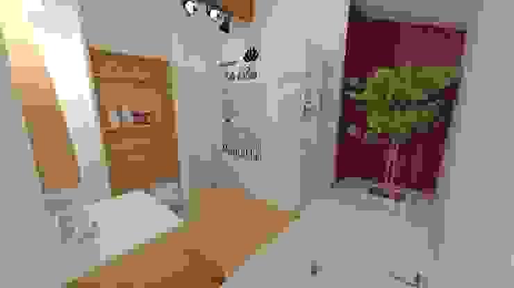 Décoration des pièces d'une maison – St Just Chaleyssin Salle de bain moderne par 1.61 design Moderne