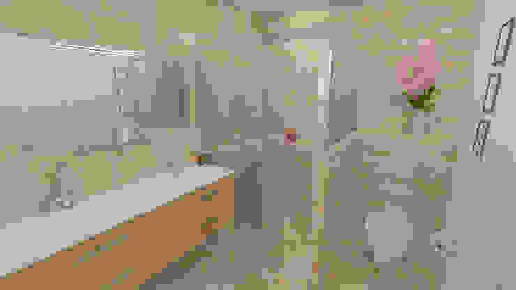 Décoration des pièces d'une maison – St Just Chaleyssin Salle de bain classique par 1.61 design Classique
