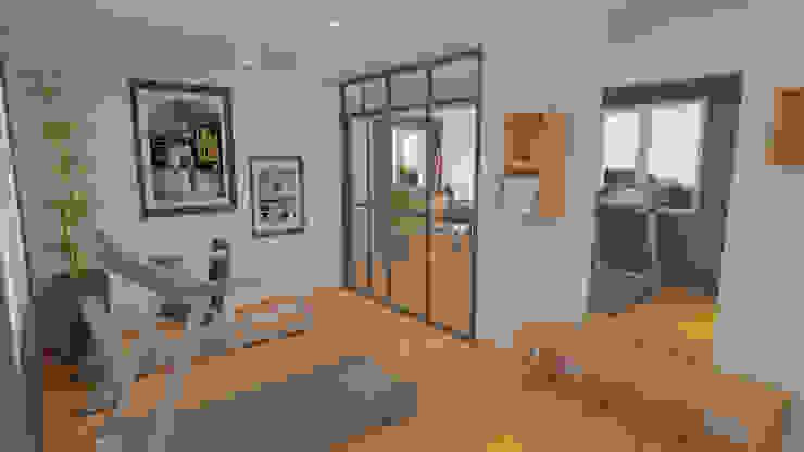 Décoration des pièces d'une maison – St Just Chaleyssin Salle de sport moderne par 1.61 design Moderne