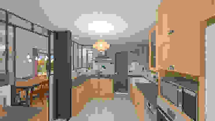 Aménagement et décoration d'une maison neuve – Lagnieu Cuisine moderne par 1.61 design Moderne
