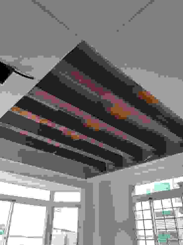室內裝修施工 根據 艾莉森 空間設計 田園風 木頭 Wood effect