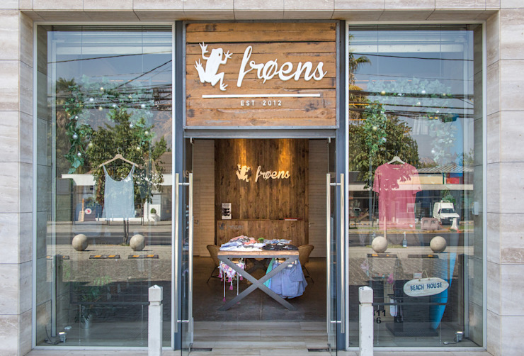 Tienda Froens - Luis Pasteur de milimetroMETRO Arquitectura Moderno