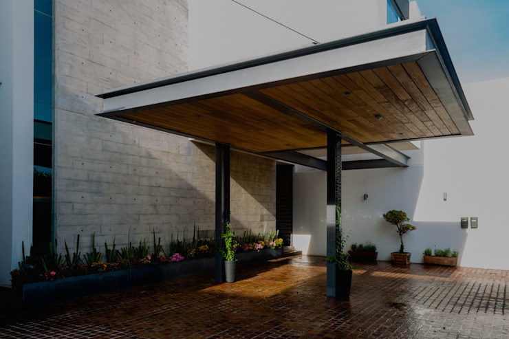 GRUPO VOLTA Carport Concrete Grey