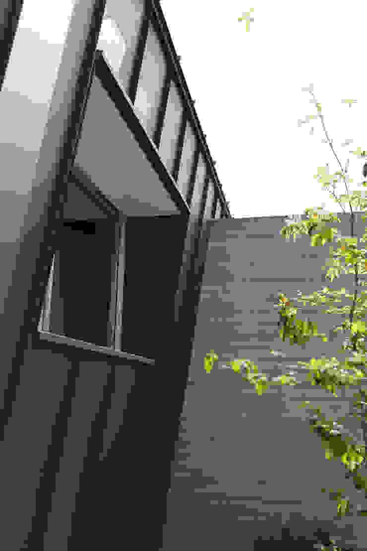 toki Architect design office uPVC windows Metal Grey
