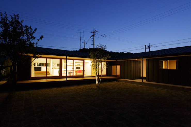 toki Architect design office Wooden houses Wood Multicolored