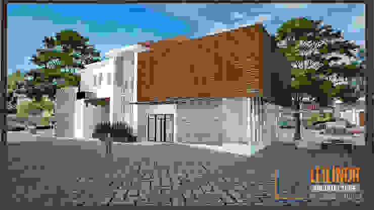 Eksterior rumah sakit kelas D by CV Leilinor Architect Industrial