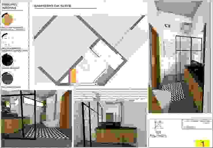 Projeto: Banheiros  por TBS Arquitetura,Clássico Azulejo