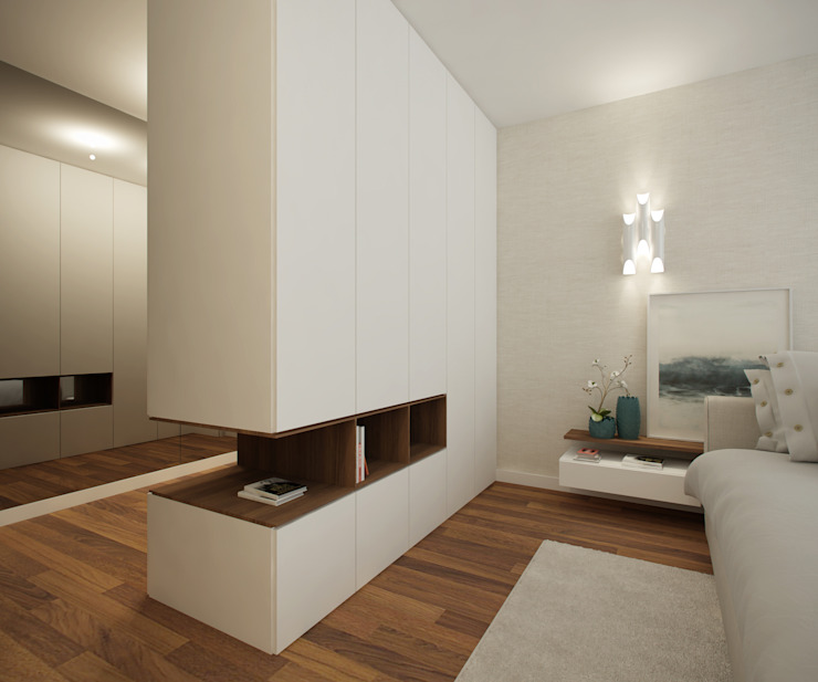 Modern style bedroom by 411 - Design e Arquitectura de Interiores Modern