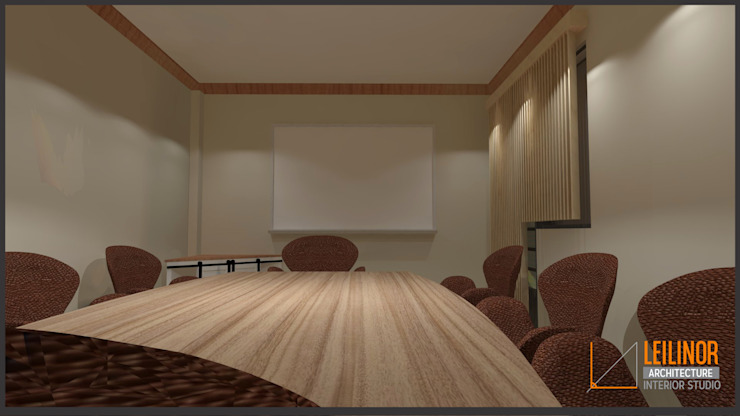 Meeting Room Renovation by CV Leilinor Architect Industrial