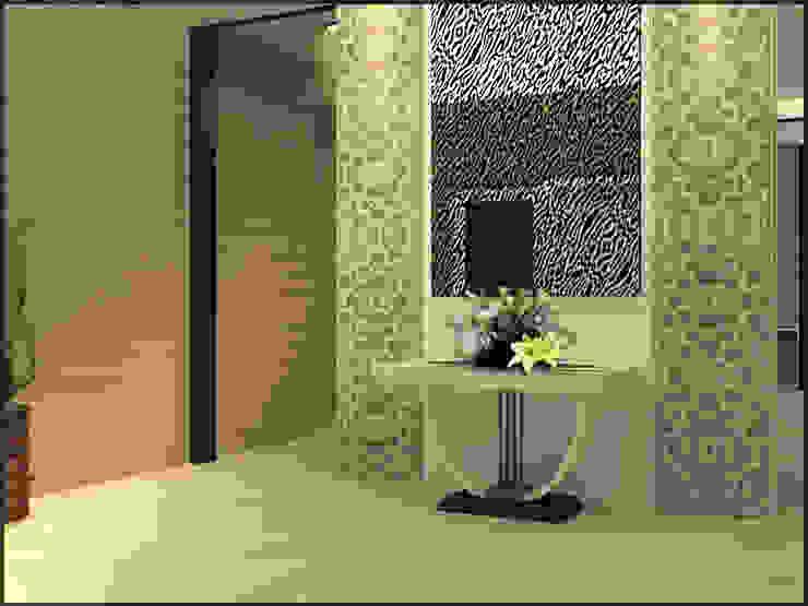 Modern House Modern Corridor, Hallway and Staircase by CV Leilinor Architect Modern
