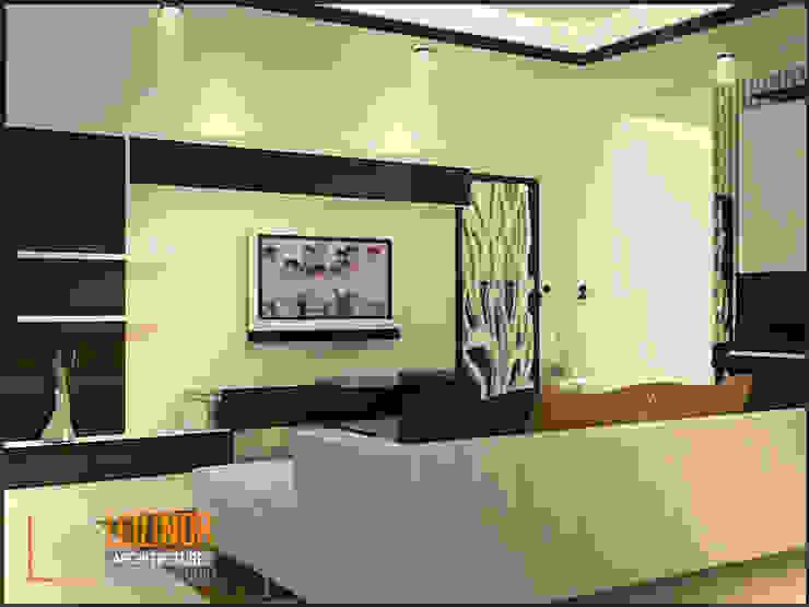 Modern House Modern Living Room by CV Leilinor Architect Modern