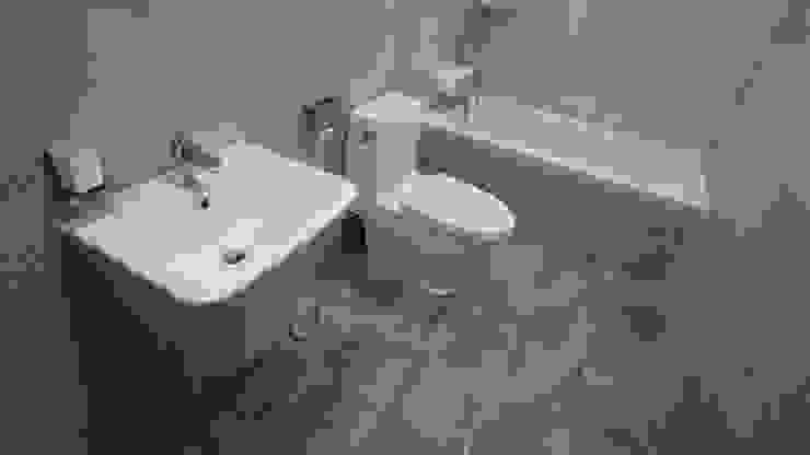누구나 꿈꾸는 모던하우징_꿈마을 한신아파트 61평 인테리어_용디자인 모던스타일 욕실 by YONG DESIGN 모던